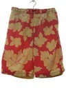 Mens Wicked 90s Hawaiian Swim Shorts