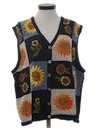 Womens Kitschy Ugly Sweater Vest