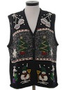 Womens Ugly Christmas Sweater Vest.