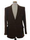 Mens Wool Blazer Coat Jacket