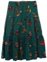 Womens Totally 80s Western Style  Skirt