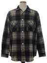 Mens Wicked 90s Grunge Style Flannel Shirt