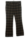Mens Plaid Jeans-Cut Pants