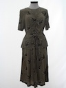 Womens Fab Forties Style Dress