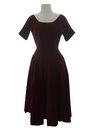 Womens Fab Fifties Designer Dress