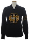 Mens Letterman Sweater