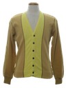Mens Mod Cardigan Sweater