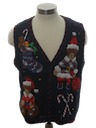 Womens or Girls Ugly Bear-riffic Christmas Sweater Vest