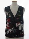 Unisex Bear-riffic Ugly Christmas Sweater Vest