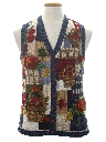 Womens Ugly Before Christmas Thanksgiving Sweater Vest