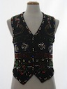 Womens Ugly Christmas Cocktail Sweater Vest
