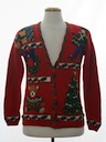 Unisex Ladies or Boys Ugly Christmas Cardigan Sweater