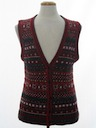 Womens Classic Style Ugly Christmas Sweater Vest