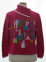Womens Totally 80s Style Ugly Christmas Sweater