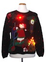 Unisex Bear-riffic Multicolor Lightup Ugly Christmas Sweater