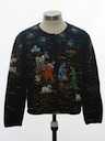 Womens Designer Nativity Scene Ugly Christmas Sweater
