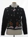 Womens Hoodie Ugly Christmas Sweater