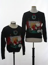 Womens Matching Set of Ugly Christmas Sweaters