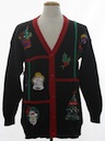 Unisex Vintage Ugly Christmas Cardigan Sweater