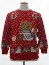 Unisex Country Kitsch Vintage Ugly Christmas Sweatshirt
