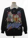 Unisex Cat-Tastic Vintage Ugly Christmas Sweatshirt