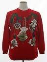 Unisex Bear-riffic Vintage Ugly Christmas Sweatshirt