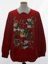 Unisex Vintage Bear-riffic Ugly Christmas Sweatshirt