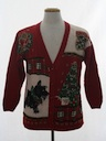 Unisex Dog-gonnit Ugly Christmas Cardigan Sweater