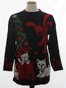 Unisex Vintage Cat-Tastic Ugly Christmas Sweater