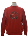 Mens Golf Theme Ugly Christmas Sweatshirt