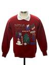 Womens or Girls Ugly Christmas Sweatshirt