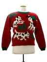 Womens Vintage Dog-gonnit Ugly Christmas Sweater
