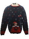 Unisex Ladies, Girls or Boys Vintage Bear-riffic Ugly Christmas Sweater