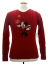 Womens or Girls Minnie Mouse Ugly Christmas Sweater