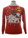 Unisex Ladies or Boys Bear-riffic Ugly Christmas Sweatshirt