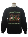 Unisex Bear-riffic Country Kitsch Ugly Christmas Sweatshirt