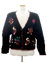 Womens Ugly Christmas Cardigan Sweater