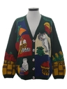 Womens Cheezy Kitschy Ugly  Sweater