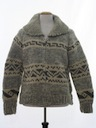 Unisex Bulky Knit Sweater Jacket