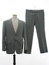 Mens Mod Disco Suit