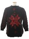 Unisex Vintage Minimalist Ugly Christmas Sweater