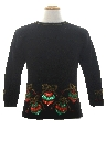 Womens or Girls Ugly Christmas Cocktail Sweater