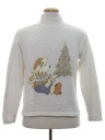Womens Bear-riffic Ugly Christmas Sweater