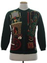 Womens or Girls Country Kitsch Ugly Christmas Sweater