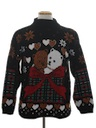Unisex Vintage Bear-riffic  Ugly Christmas Sweater