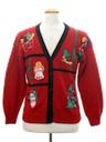 Unisex Vintage Ugly Christmas Cardigan Sweater