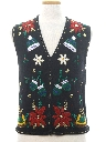 Unisex Ladies, Girls or Boys Ugly Christmas Sweater Vest