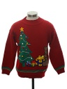 Unisex Ladies or Boys Bear-riffic Ugly Christmas Sweater