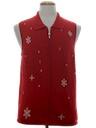 Unisex Minimalist Ugly Christmas Sweater Vest