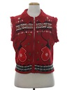 Womens Totally 80s Look Ugly Christmas Sweater Vest